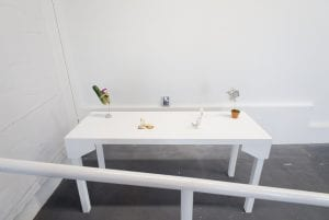 """Installation view, """"Isaac Pool: 40 Volume,"""" 2018. Image courtesy of the artist."""